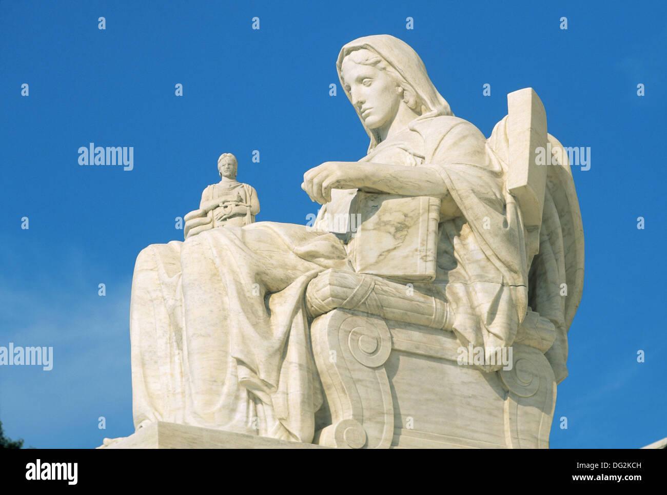 U.S. Supreme Court. Washington D.C. USA - Stock Image