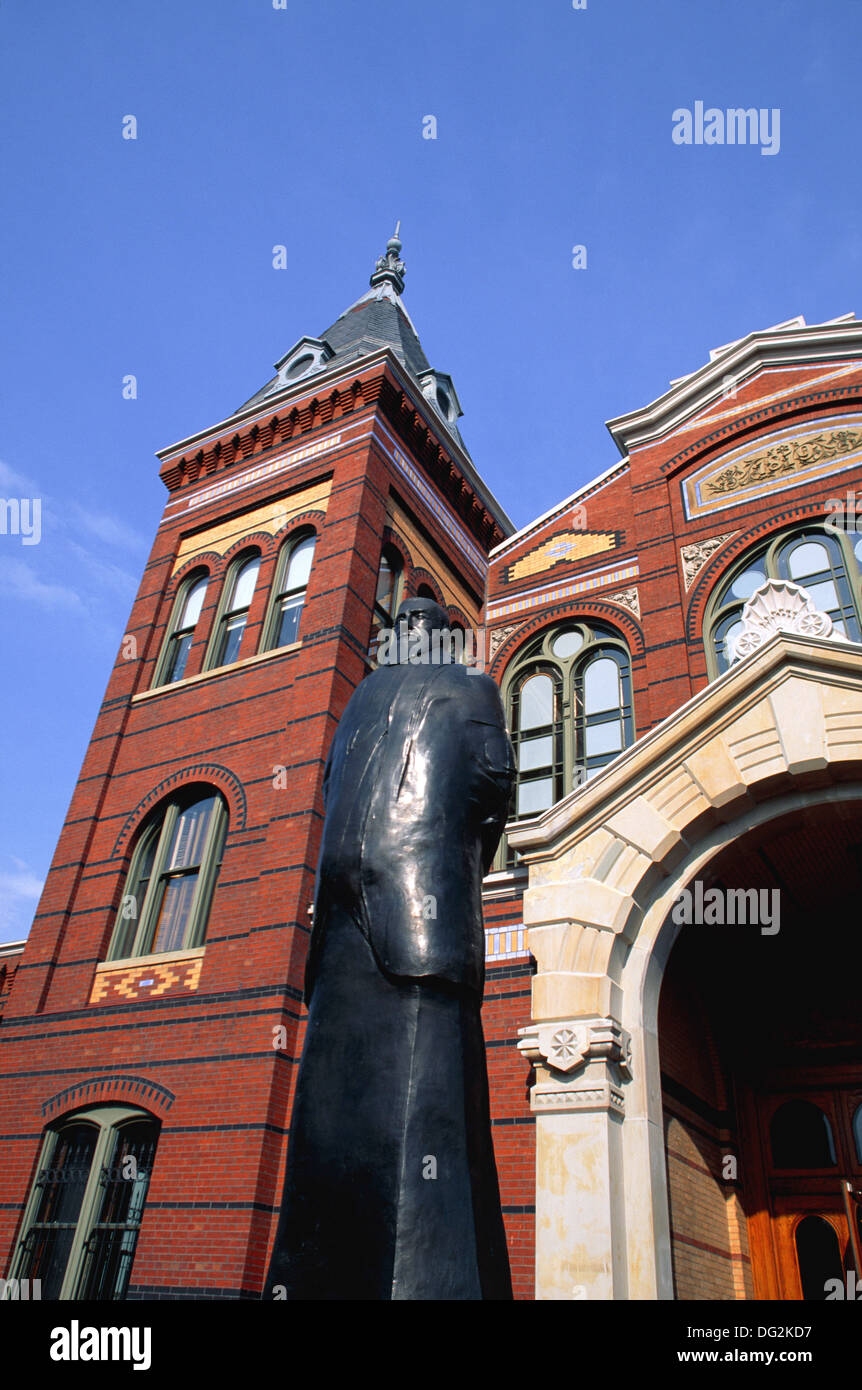 Arts and Industries Building, second oldest Smithsonion Building. Smithsonian Institution. Washington D.C. USA - Stock Image