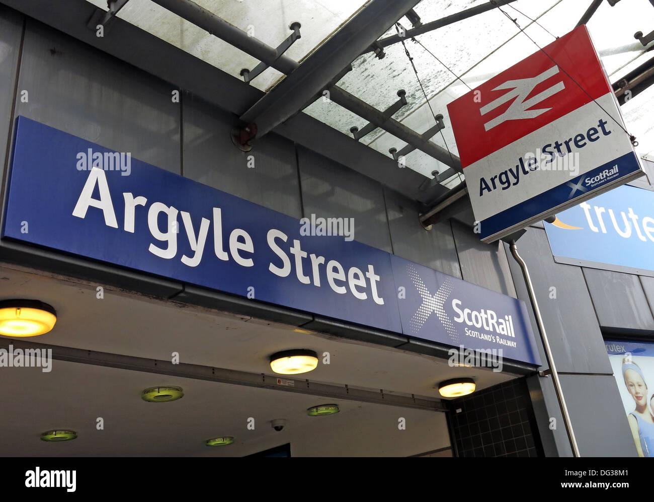 Glasgow Argyle Street Scotrail Station Glasgow Scotland UK - Stock Image