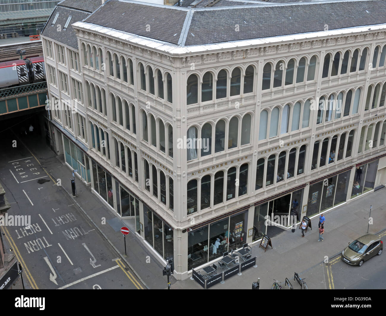 The S Gardner & son Building, 36 Jamaica st, Glasgow Scotland UK - Stock Image