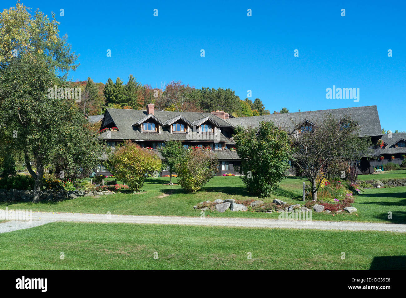 Trapp Family Lodge - Stowe, Vermont - Stock Image
