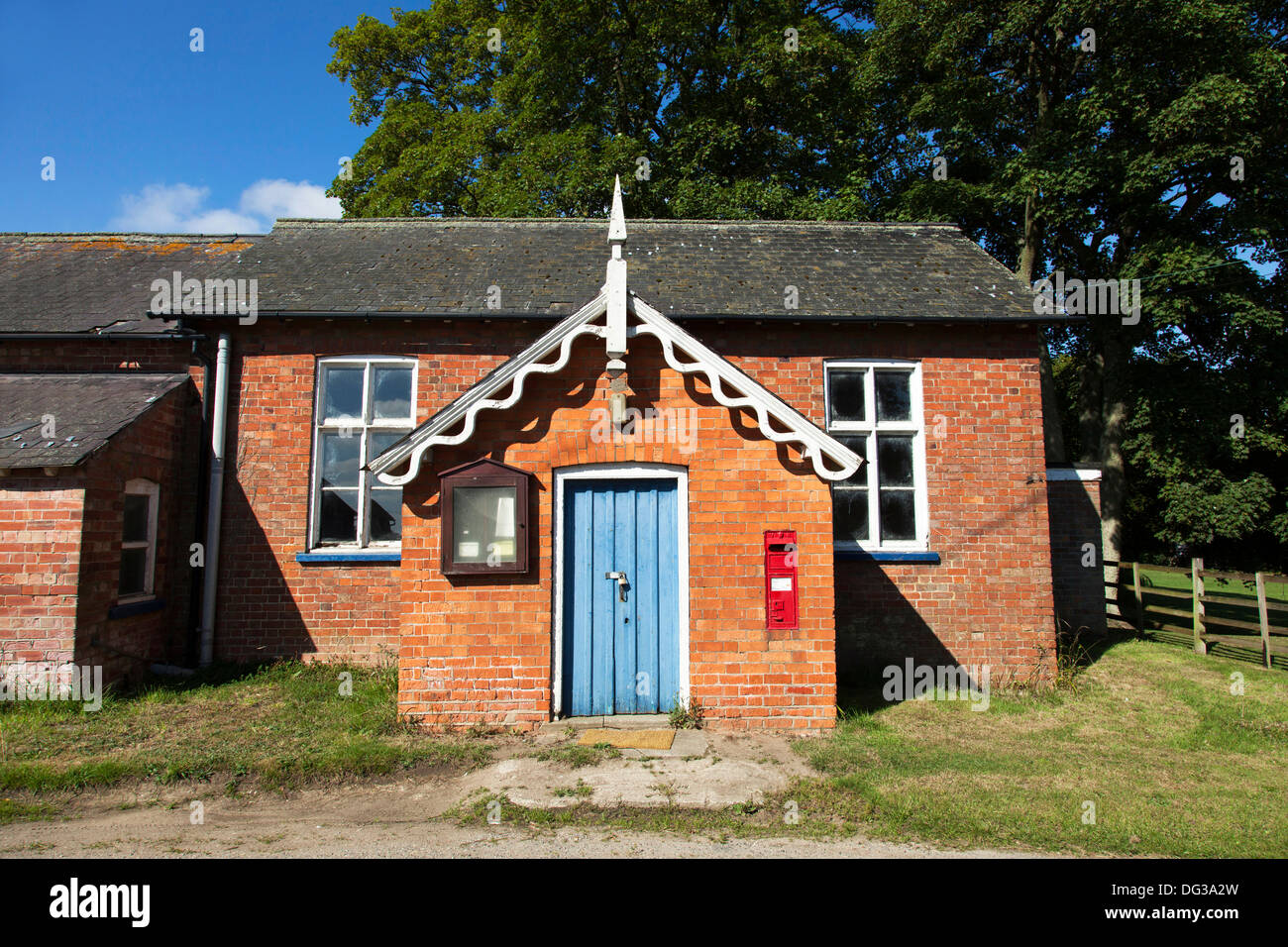 A village hall in Lincolnshire, England, U.K. - Stock Image