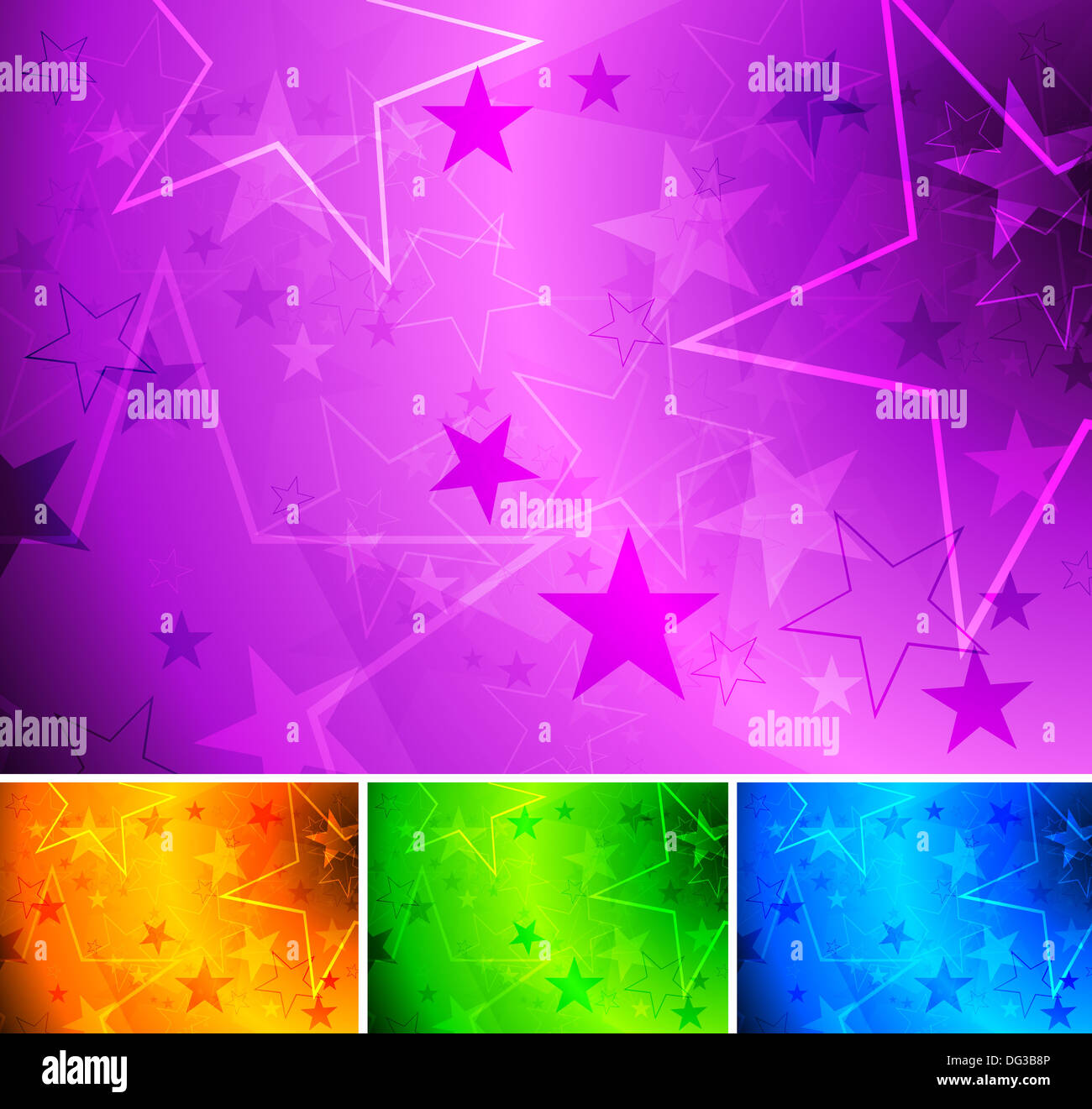 Set of bright star backgrounds eps 10 stock photo 61540326 alamy set of bright star backgrounds eps 10 thecheapjerseys Gallery