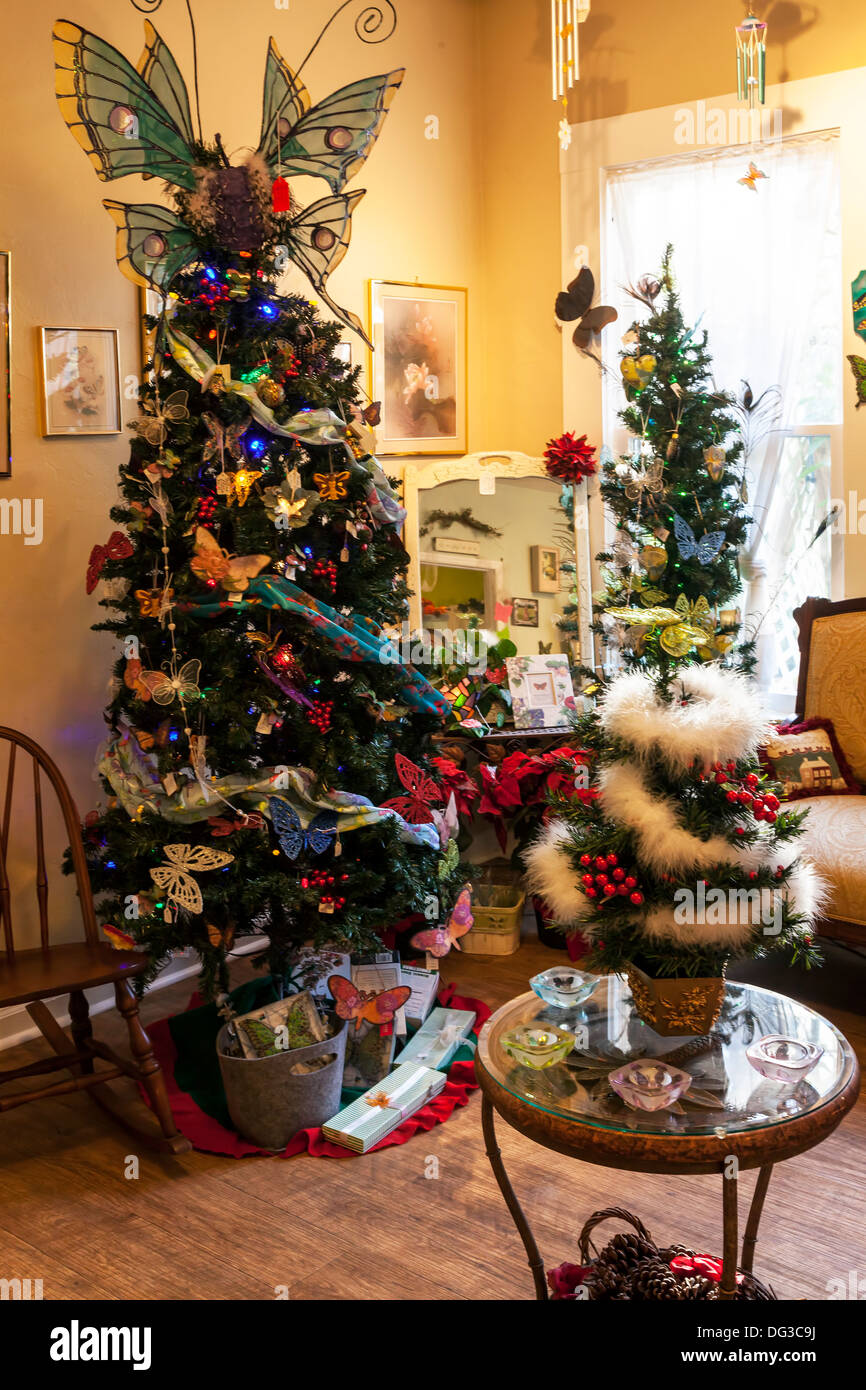 festive trees christmas silver how ideas decorations red white decor your to decorate thwwhitecompany tree interiors decorated room online living decorating