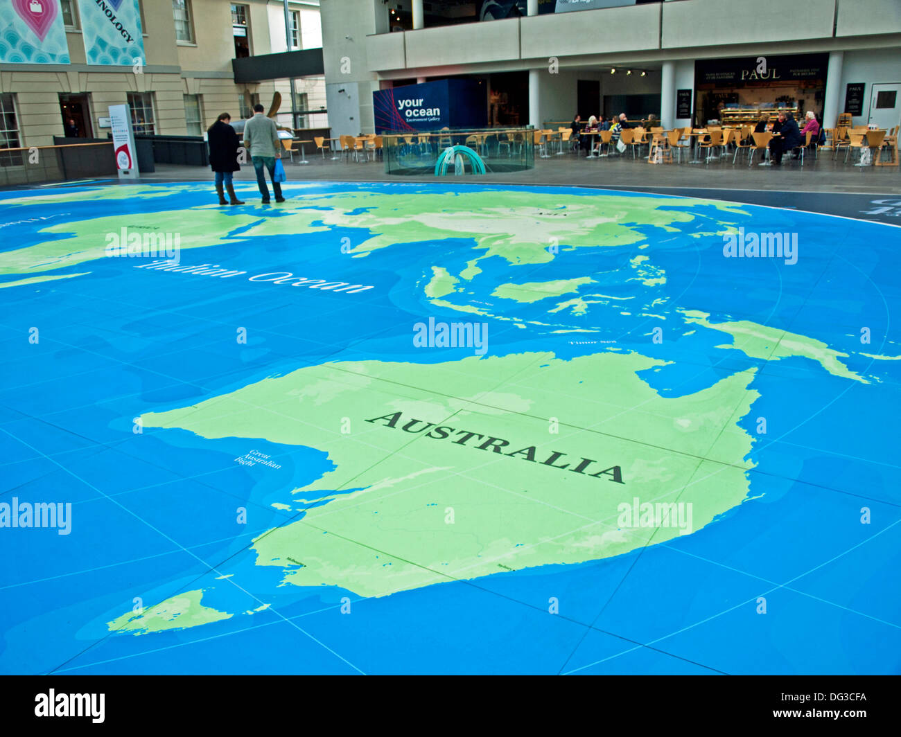 The great map at the national maritime museum greenwich london the great map at the national maritime museum greenwich london england united kingdom gumiabroncs Image collections