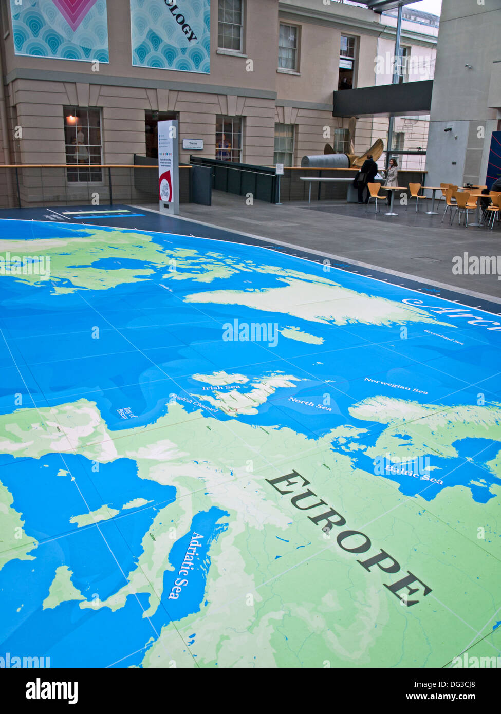 The great map at the national maritime museum greenwich london the great map at the national maritime museum greenwich london england united kingdom gumiabroncs Gallery