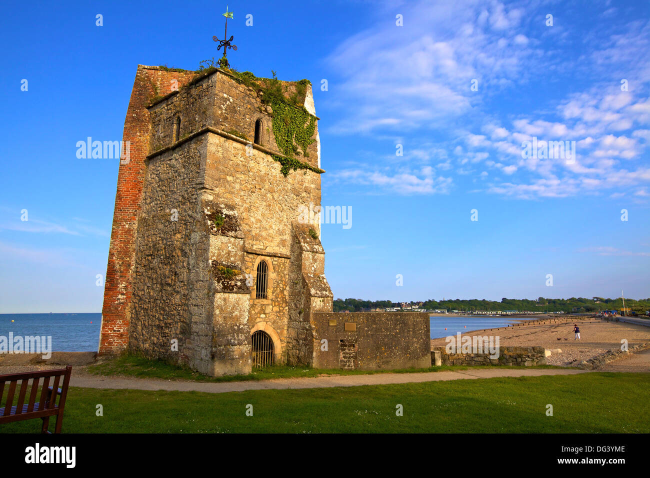 St. Helen's Old Church, St. Helen's, Isle of Wight, England, United Kingdom, Europe - Stock Image