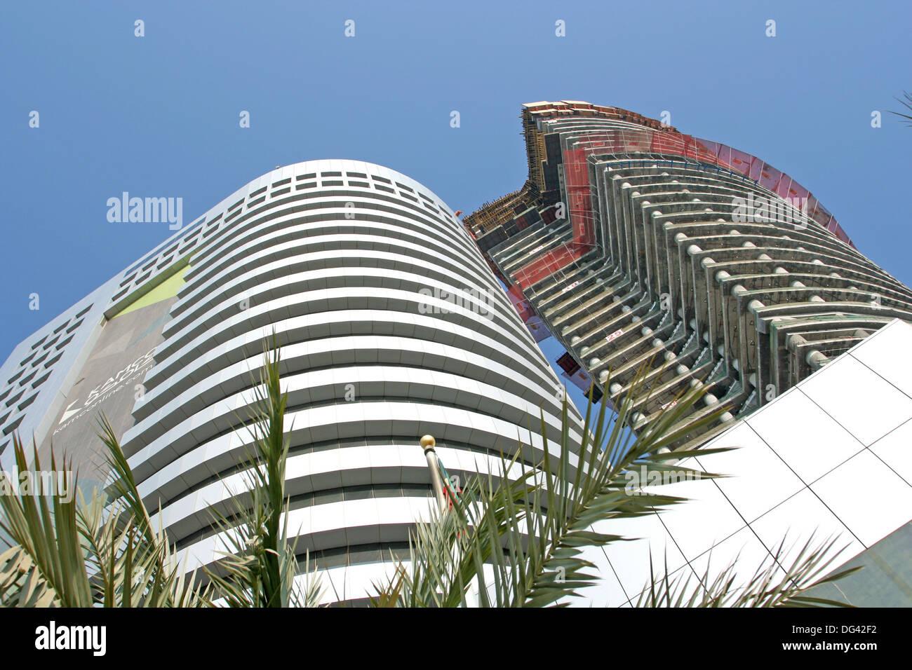 Modern Skyscrapers, kuwait city Stock Photo