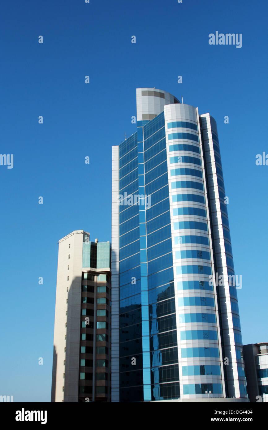 Building of HSBC Bank in Kuwait, Kuwait city Stock Photo: 61556856