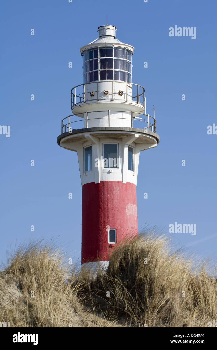 Nieuwpoort, Lighthouse, Belgium North Sea Cost Nieuport, Phare, Côte de la mer du Nord, Belgique Nieuwpoort, - Stock Image