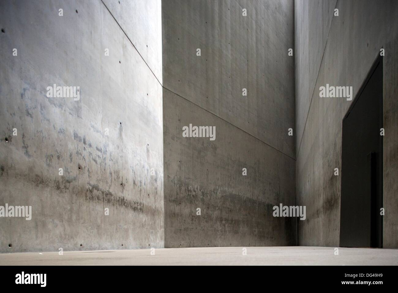 Holocaust Tower Jewish Museum Berlin Germany Stock Photo Alamy