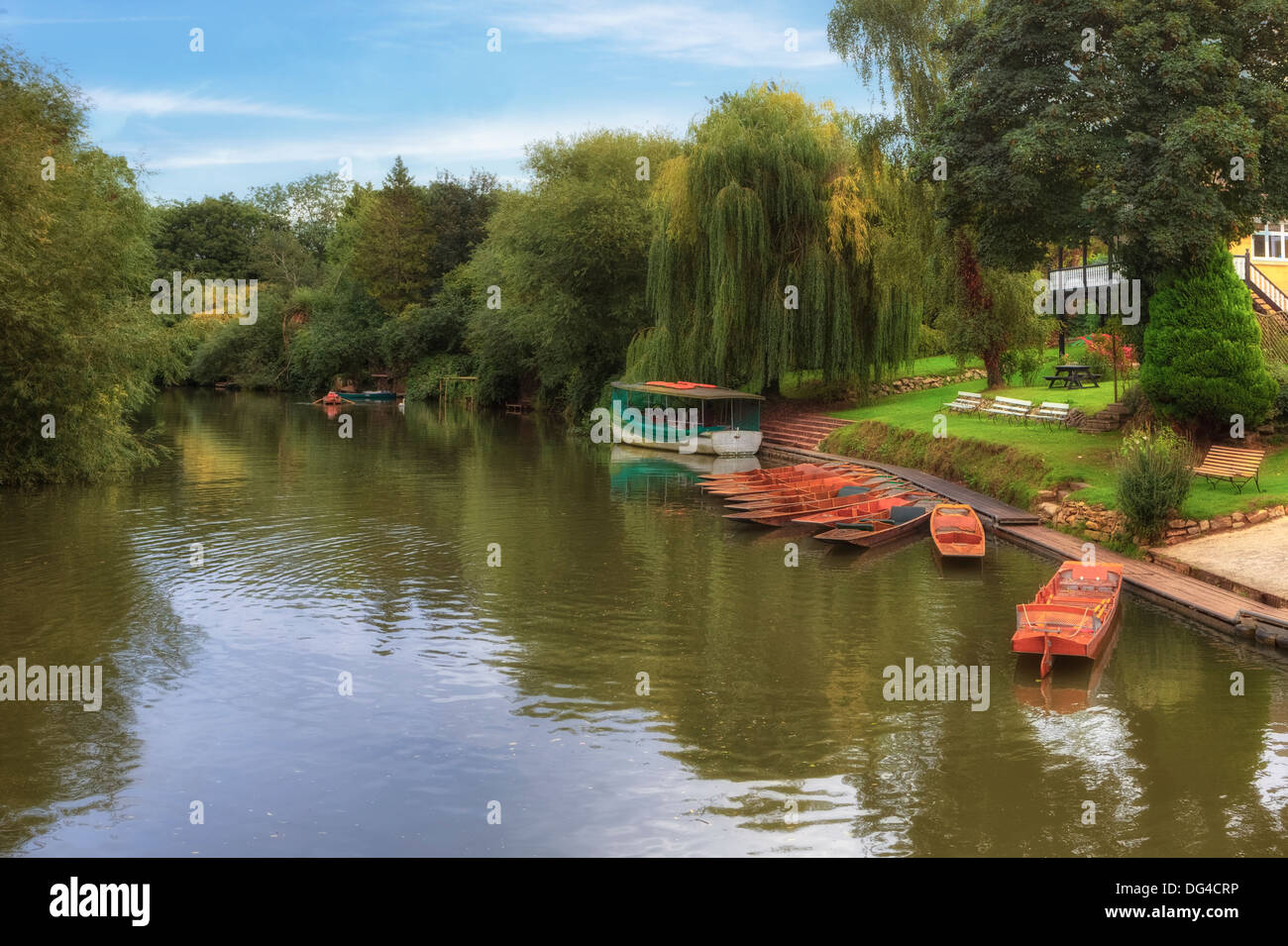 River Avon, Bath, Somerset, England, United Kingdom - Stock Image