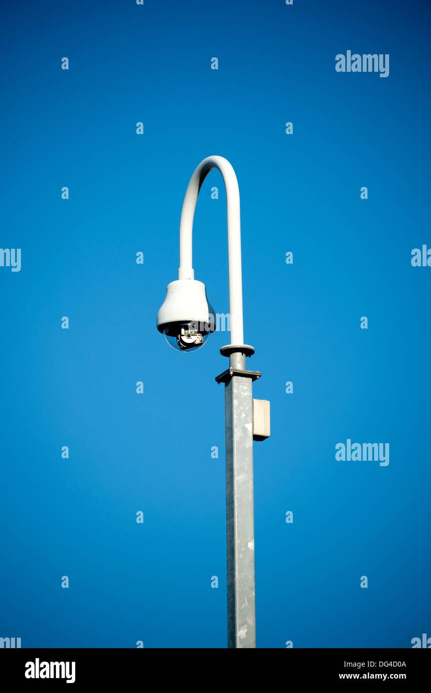CCTV Dome Camera Surveillance Big Brother Watching you - Stock Image