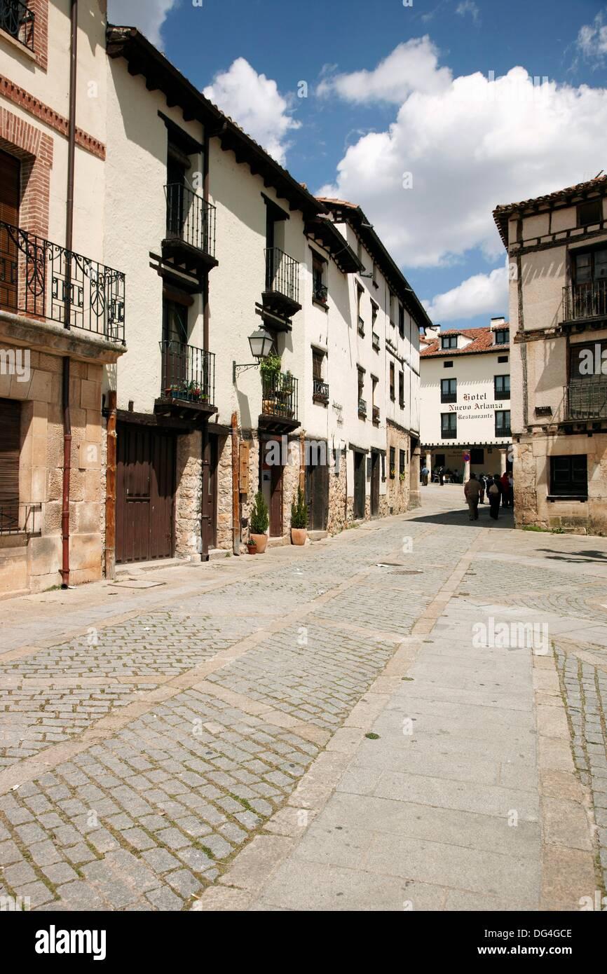 Centro historico, Covarrubias, Burgos, España Spain - Stock Image