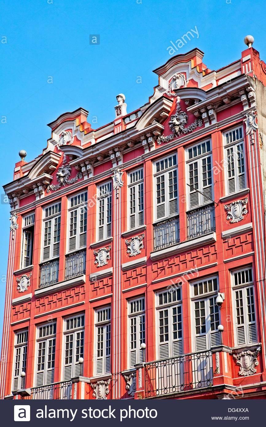 Old buildings,Rio De Janeiro,Brazil,Sth America - Stock Image