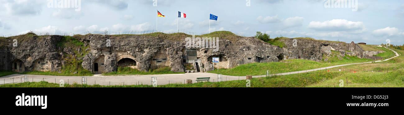 First World War One Fort de Douaumont, Lorraine, Battle of Verdun, France - Stock Image
