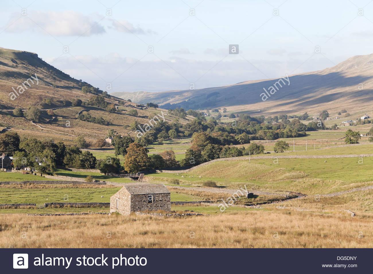 The Upper Eden Valley, Cumbria, UK - Stock Image