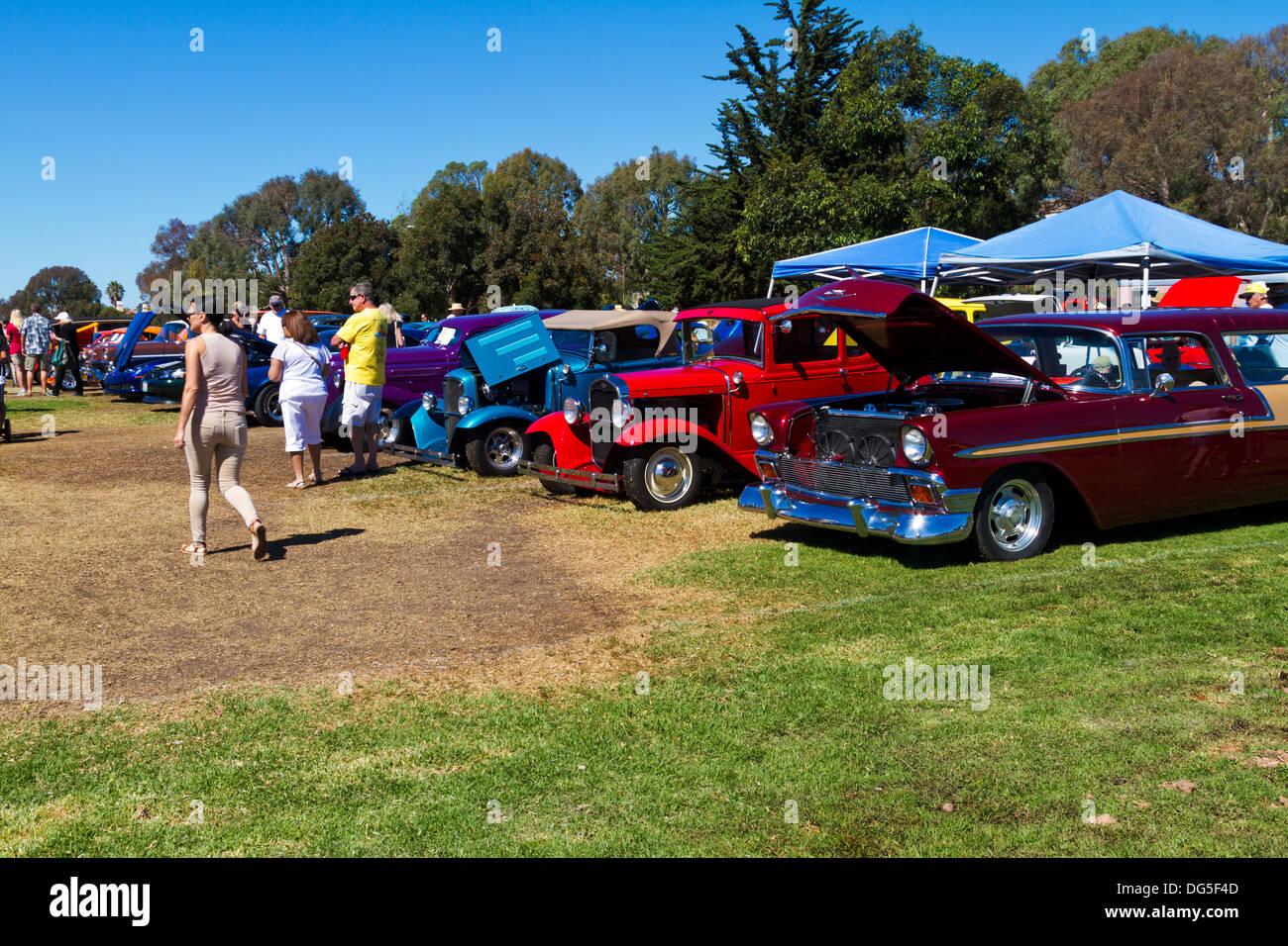 Modified Classic Car Stock Photos & Modified Classic Car Stock ...