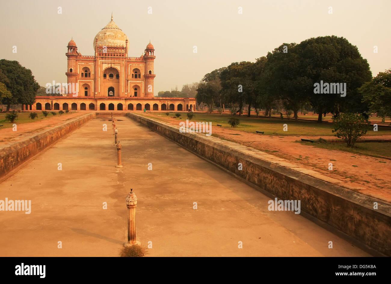 Tomb of Safdarjung, New Delhi, India - Stock Image