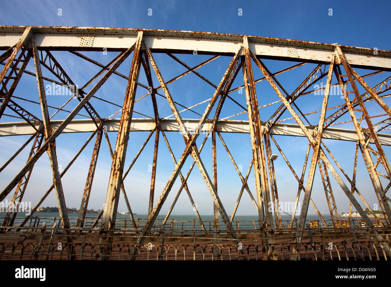 Pont Faidherbe bridge. - Stock Image