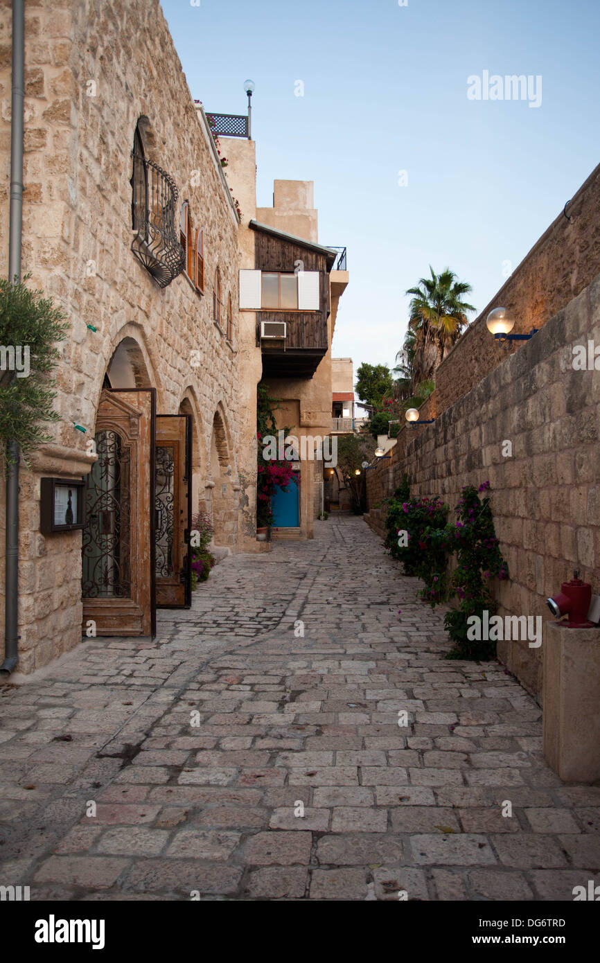alley in jaffa - Stock Image
