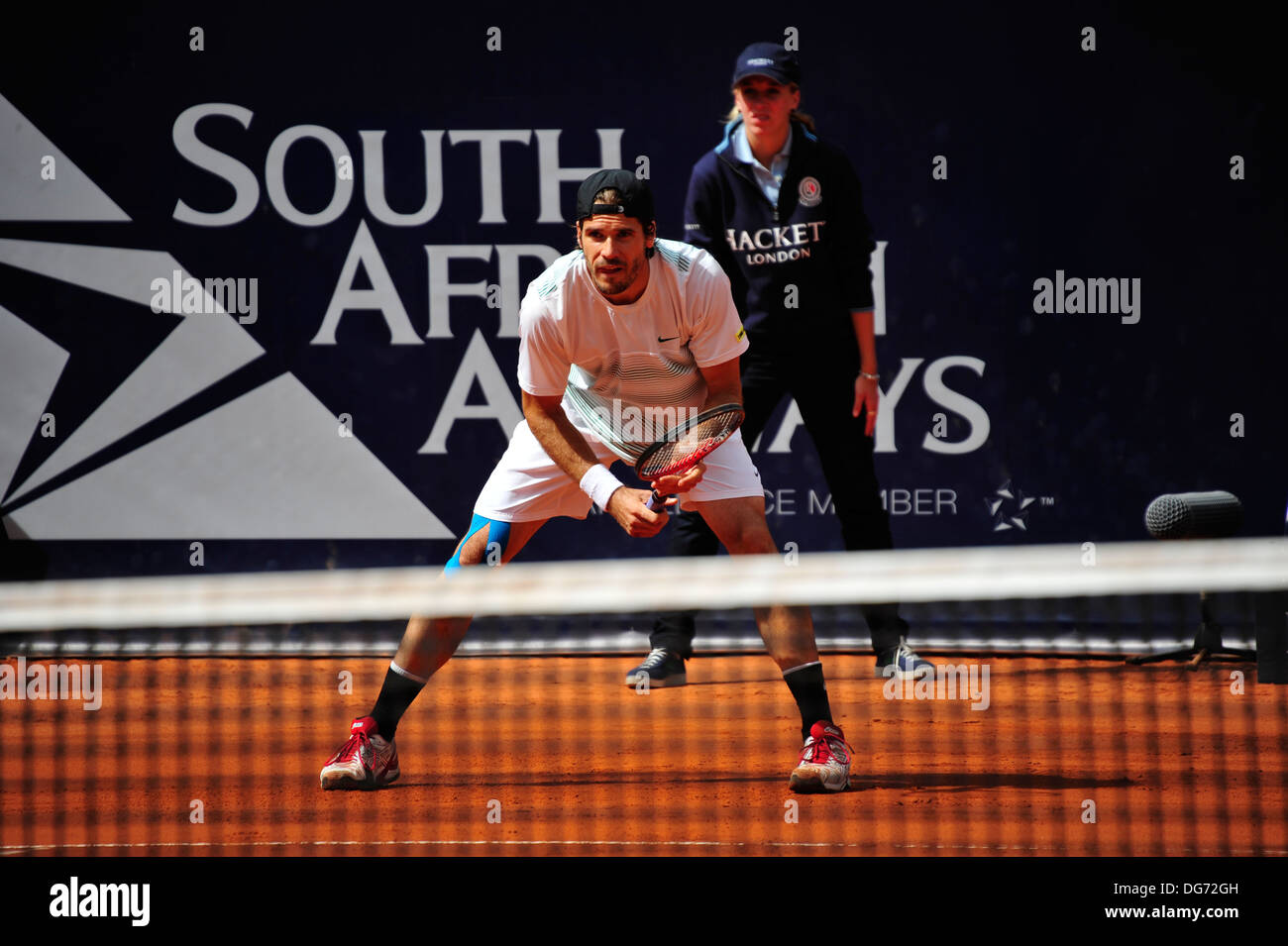 Tommy Haas, bet-at-home ATP Tennis Turnier am Rothenbaum 2012, Hamburg, Germany. Press use only. - Stock Image