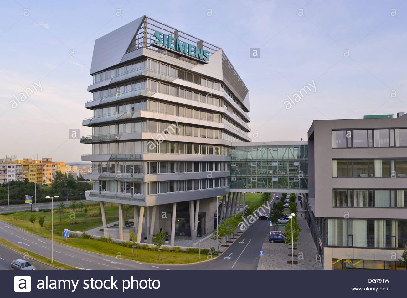 modern office building. Modern Office Buildings In Prague Czech Republic Europe Building