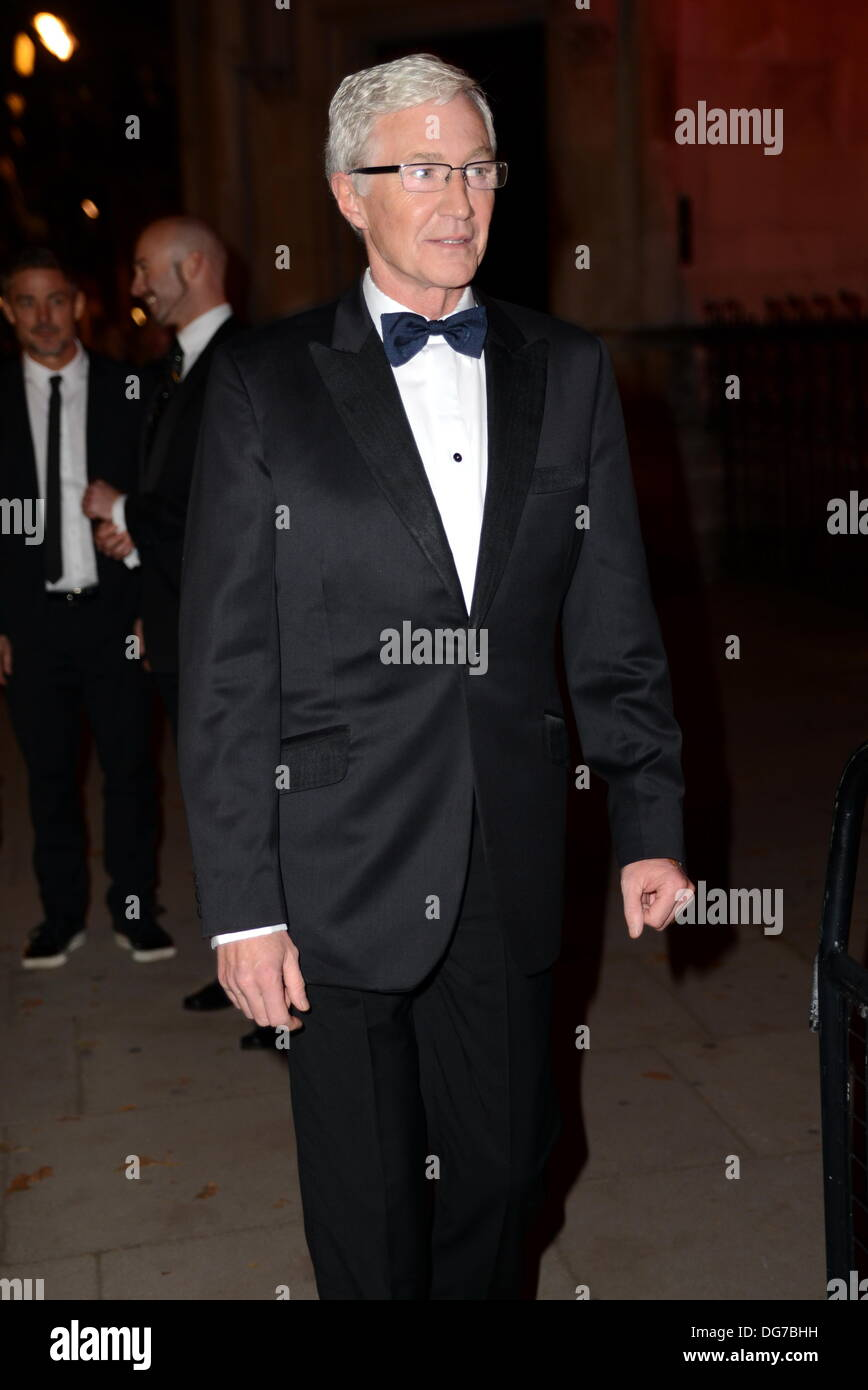 London UK, 15th Oct 2013 : Paul O'Grady arrive at the Attitude Magazine Awards 2013 at the Royal Courts of Justice. Stock Photo