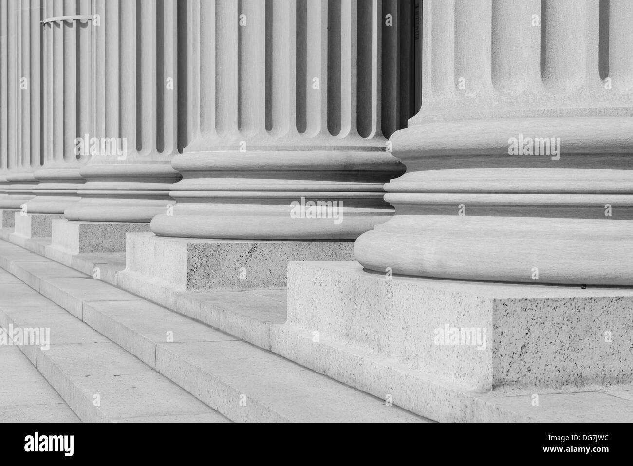 Pillars - Stock Image