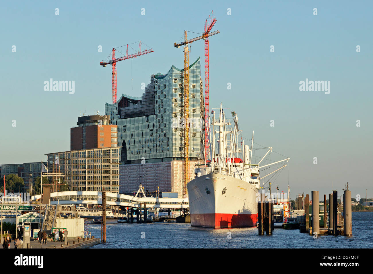Elbe Philharmonic Hall, Hamburg Harbour, Germany - Stock Image