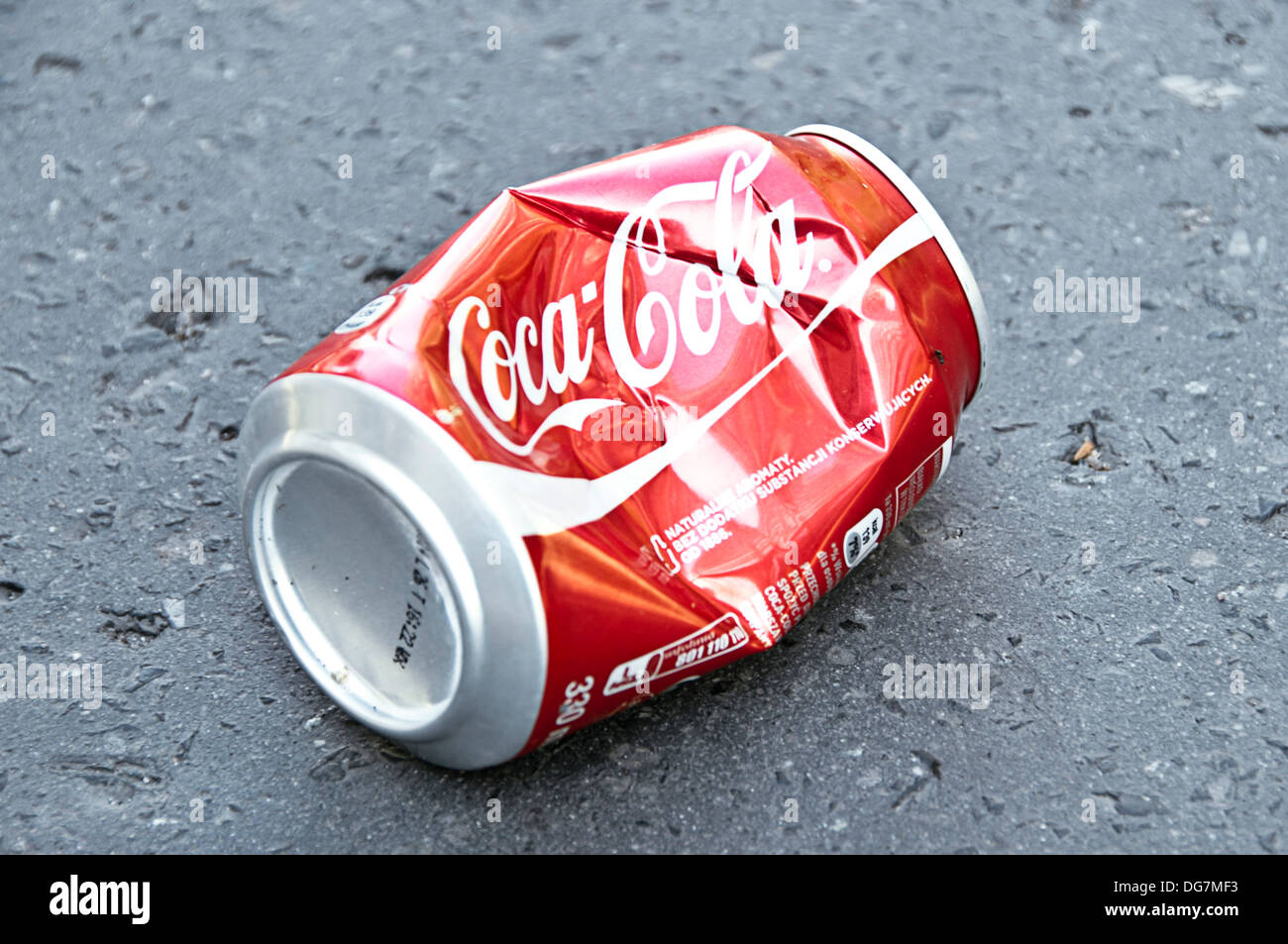 Coca Cola Can Crushed High Resolution Stock Photography and Images - Alamy