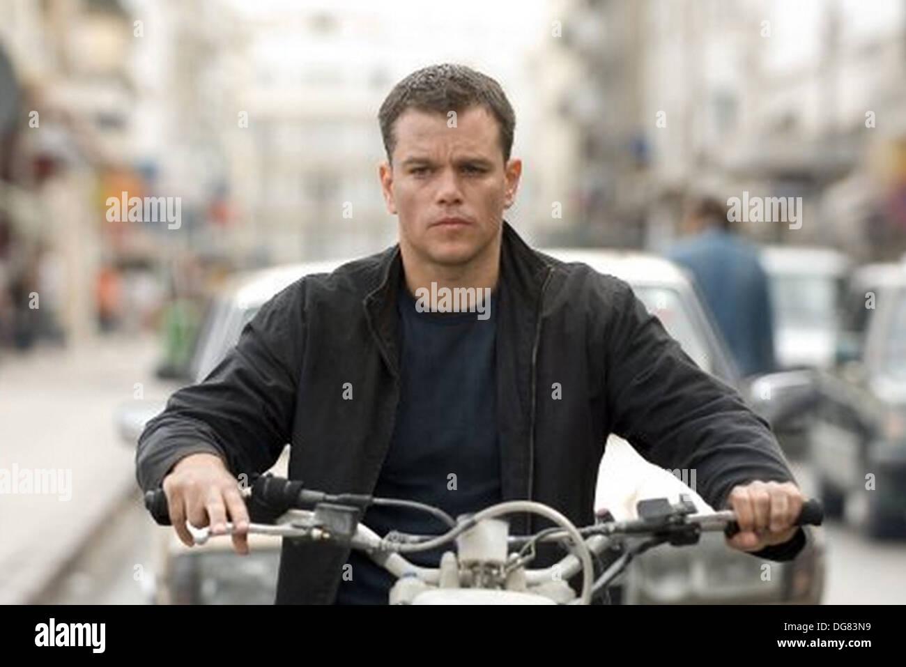 THE BOURNE ULTIMATUM 2007 Universal film with Matt Damond Stock Photo