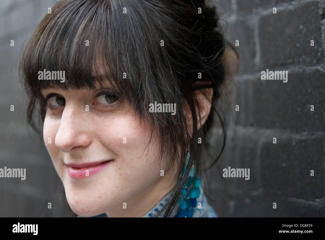 Actress Nadia Kamil - Stock Image
