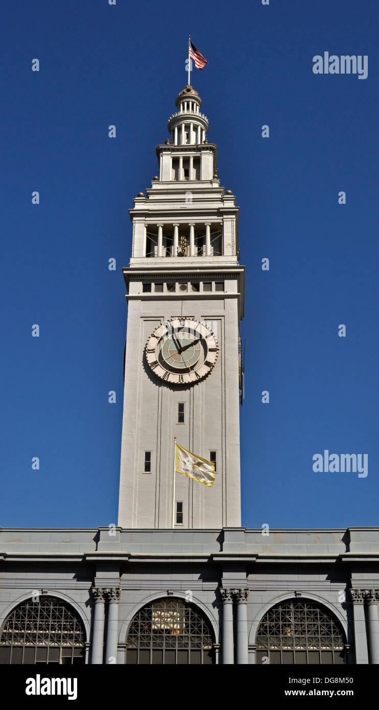 Ferry Building, San Francisco, California. USA. Stock Photo