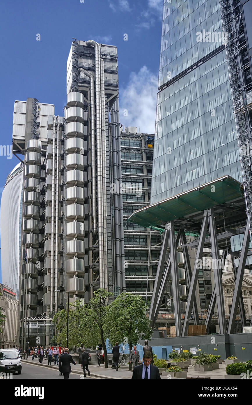 LLOYDS BUILDING LONDON U.K. - Stock Image