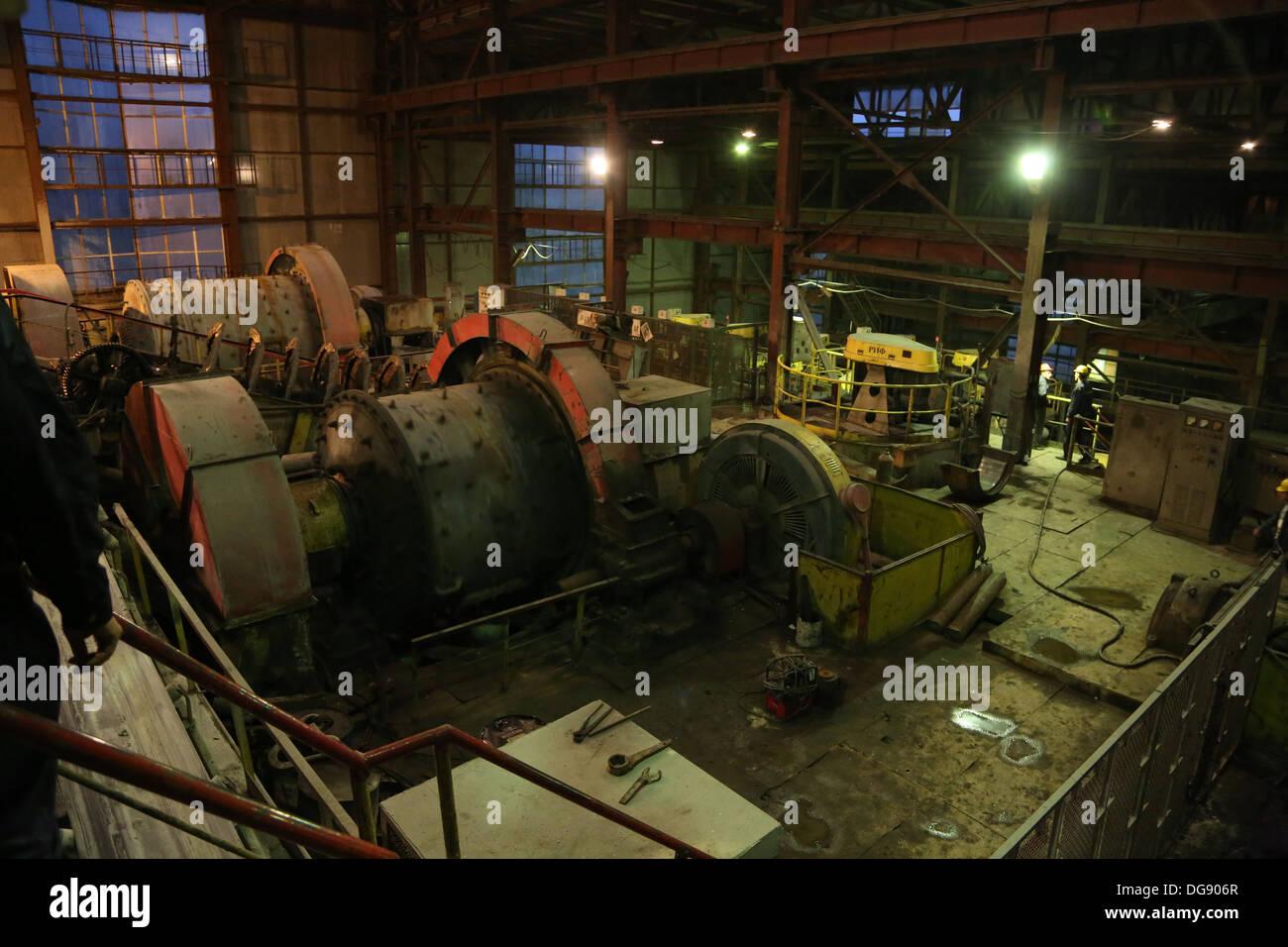 Nagorno Karabakh, goldmine plant - Stock Image