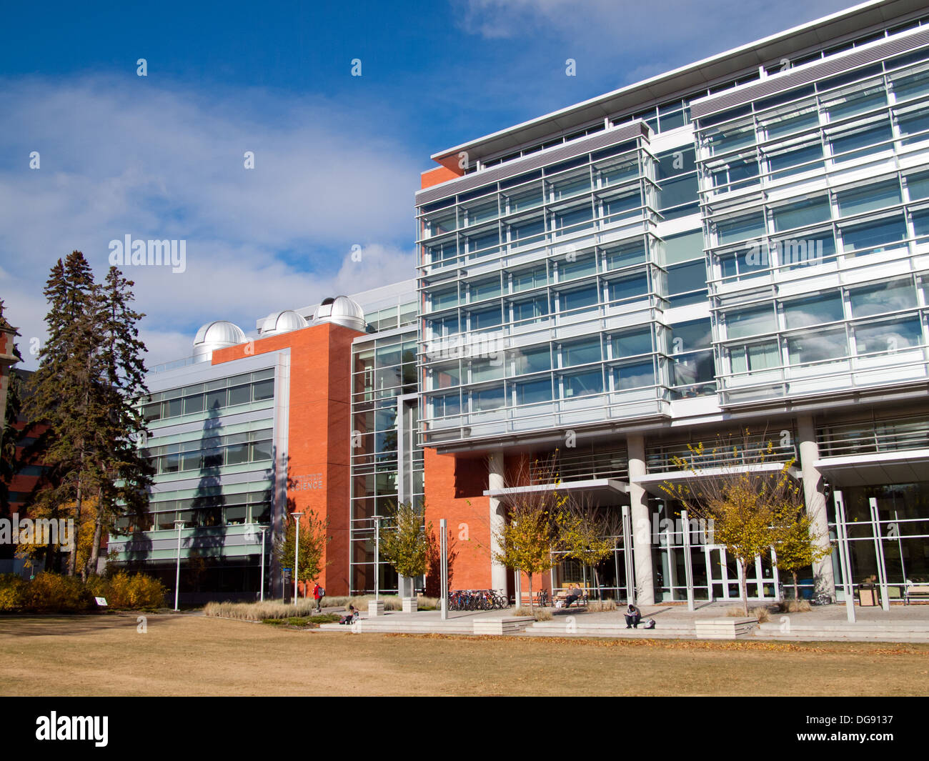 The Faculty of Science Centennial Centre for Interdisciplinary Science (CCIS) at the University of Alberta in Edmonton, Canada. - Stock Image