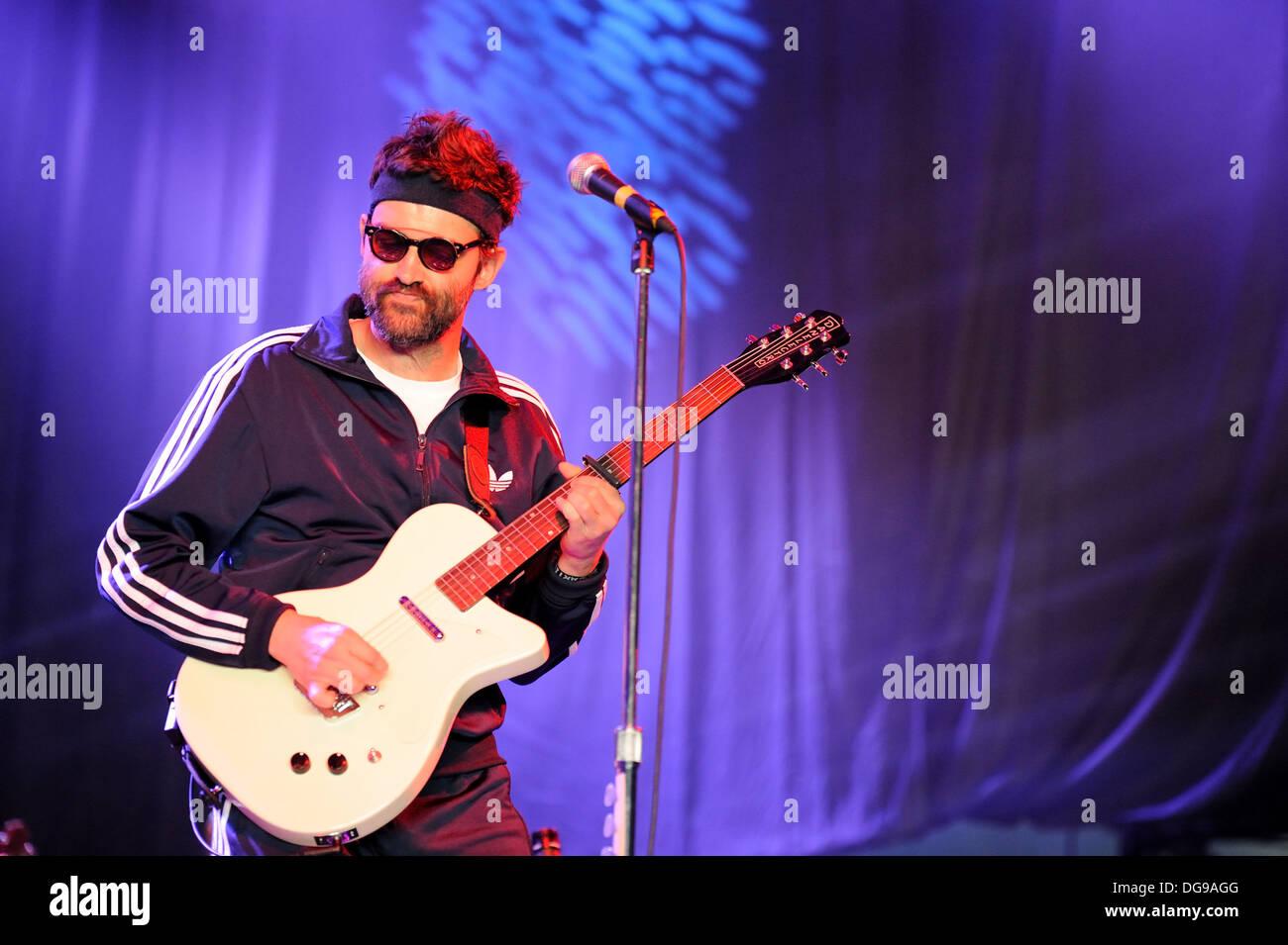 Mark Oliver Everett E Of American Alternative Rock Band Eels Stock Photo Alamy