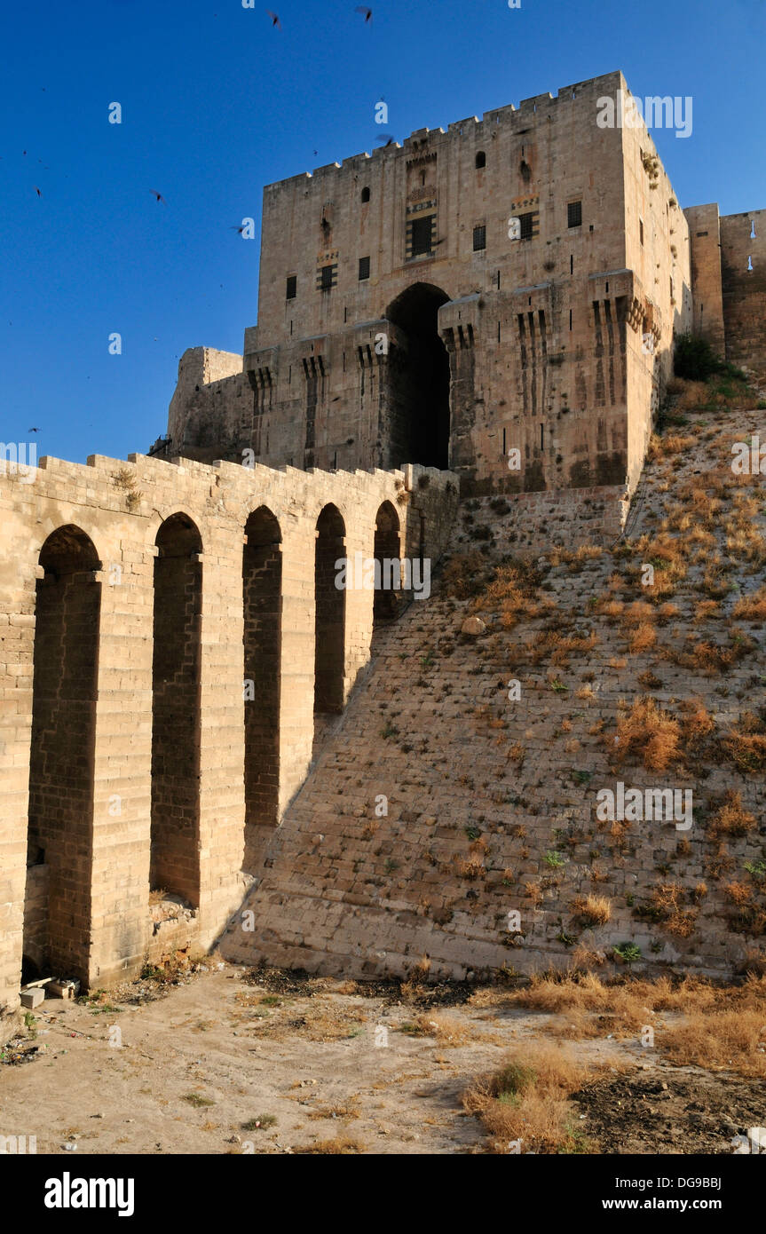 Historic Citadell Of Aleppo Unesco World Heritage Site Syria