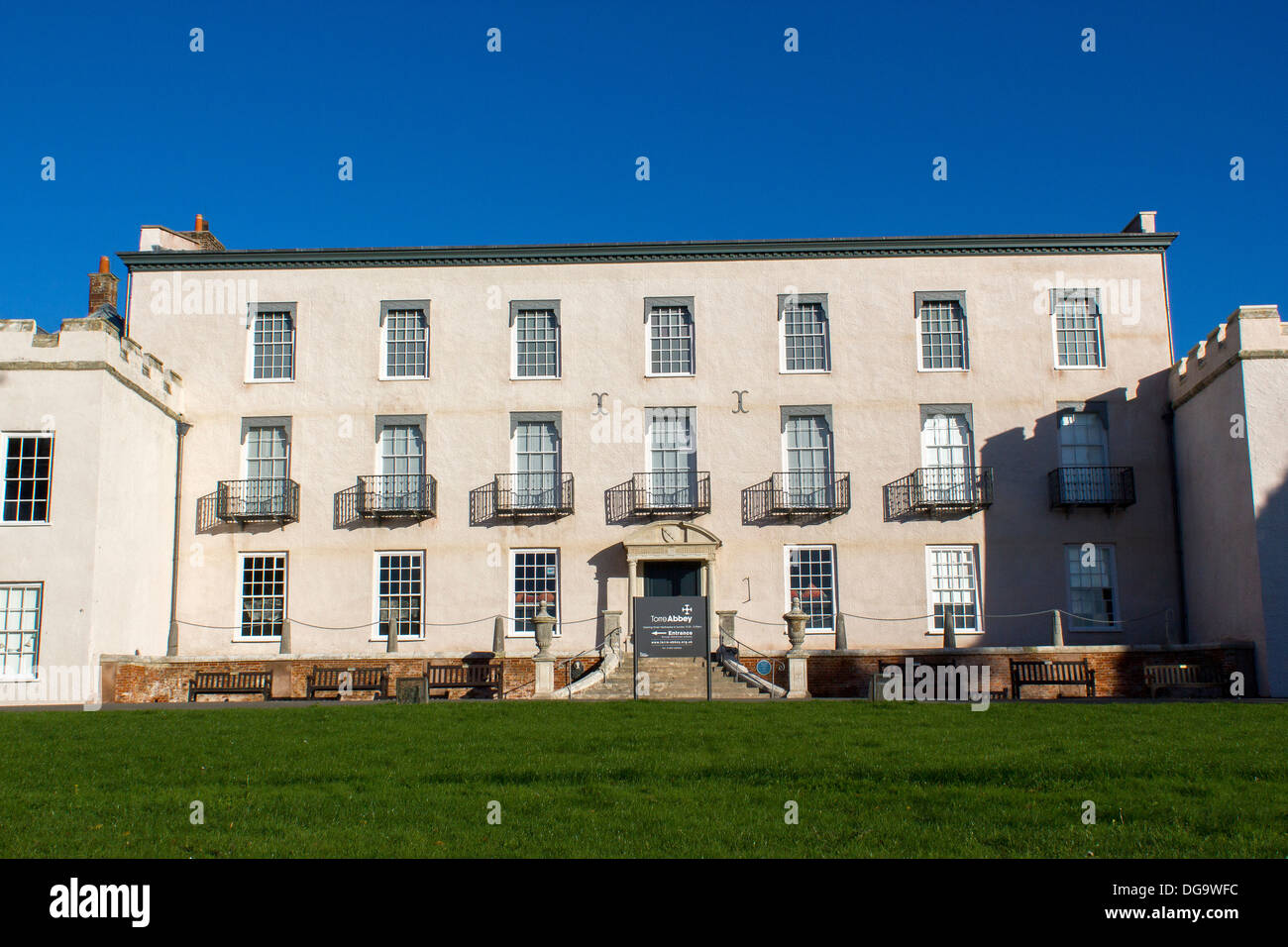 Torre Abbey is a historic building and art gallery in Torquay, Devon, which lies in the South West of England. It was founded in - Stock Image