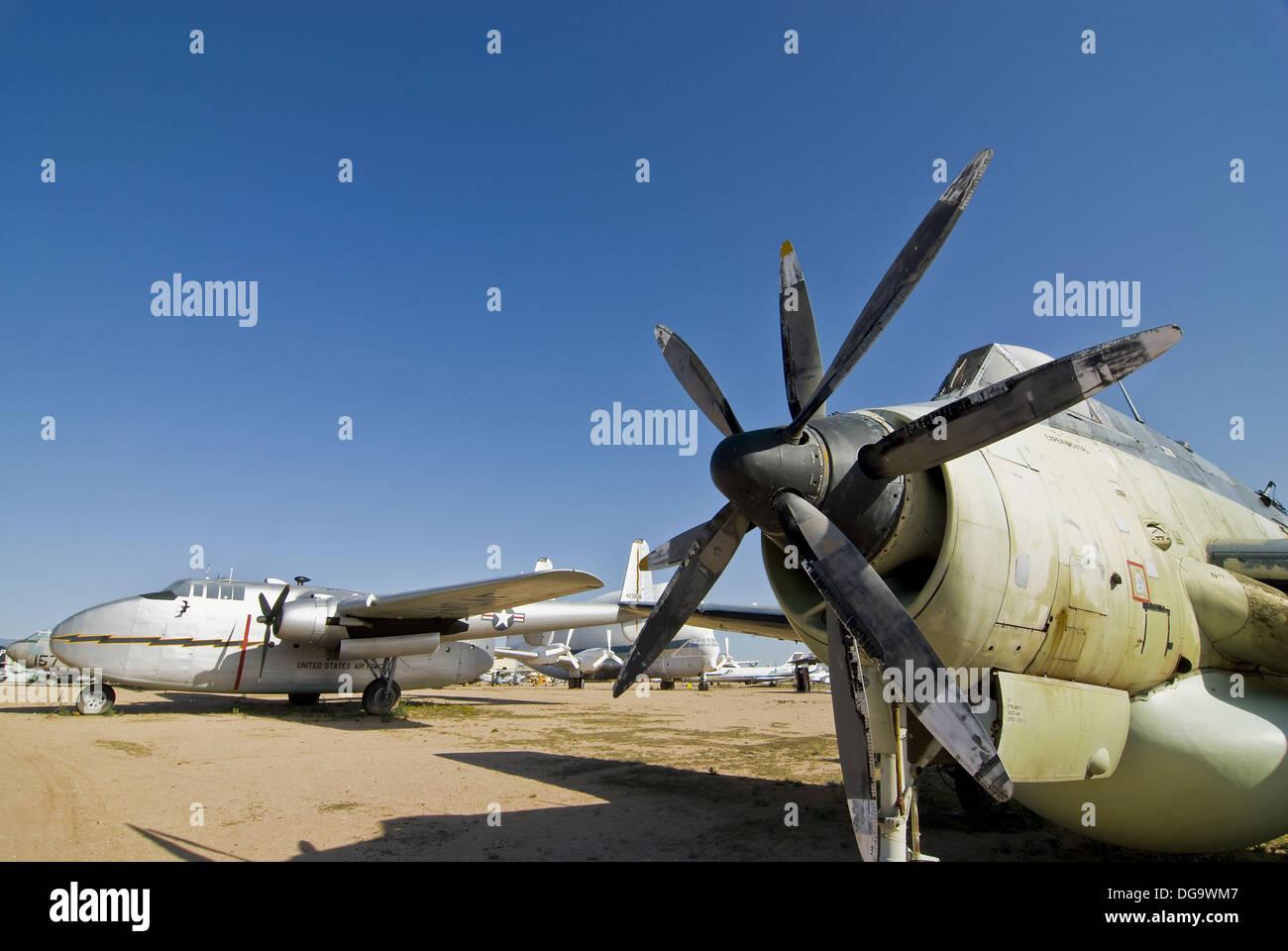 PIMA Air and Space Museum, Tucson, Arizona USA - Stock Image