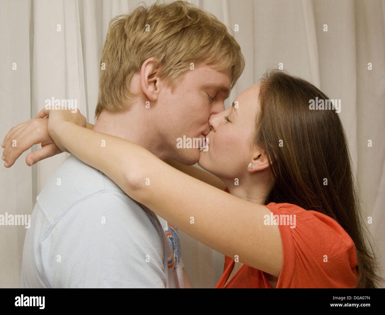 big hug and kiss stock photo: 61685337 - alamy