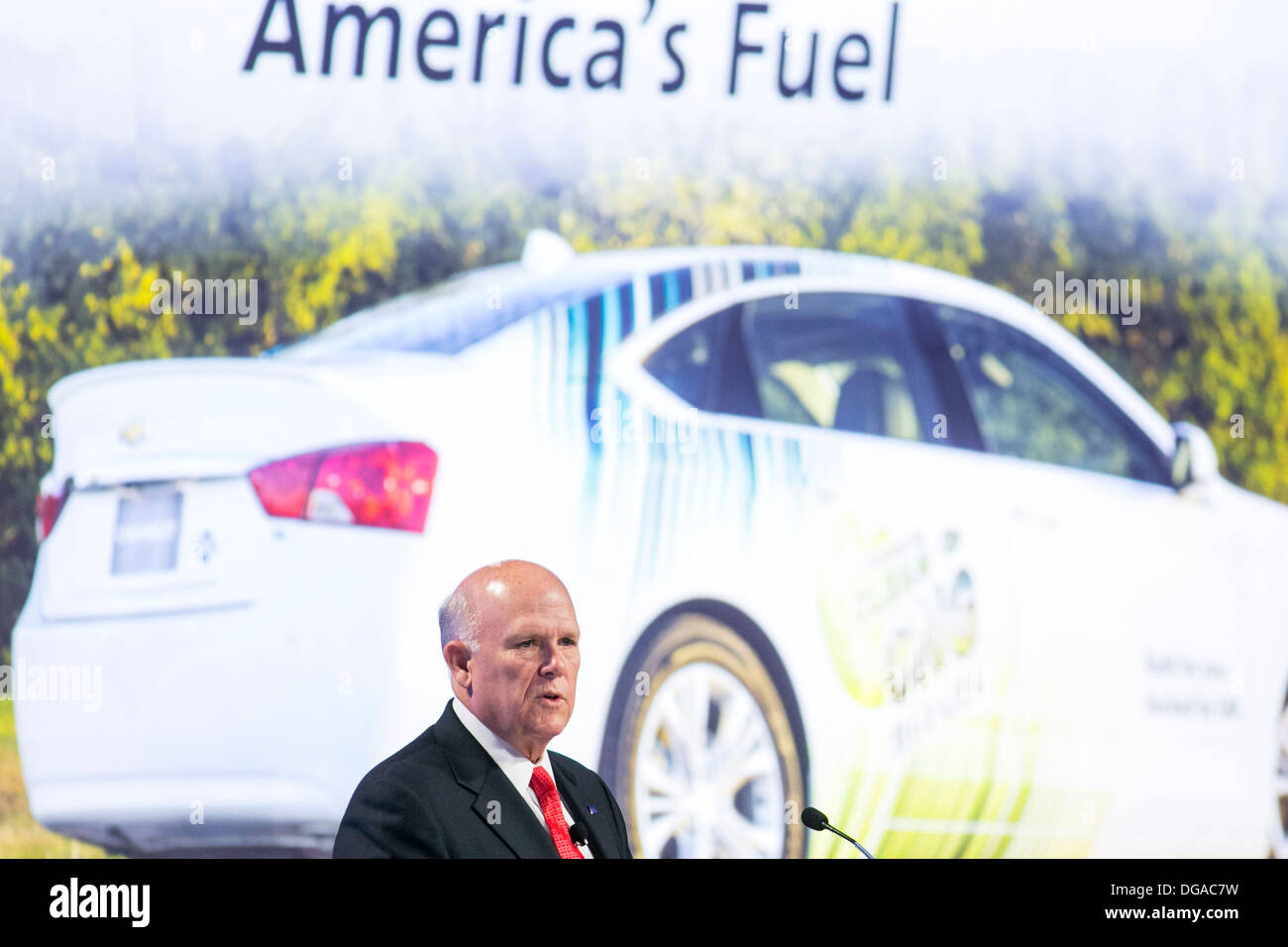 Daniel Akerson Chairman and Chief Executive Officer of General Motors (GM).  - Stock Image