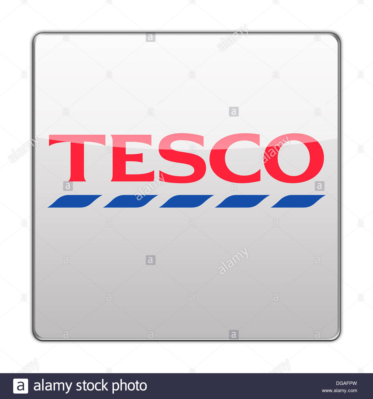 Tesco icon logo button app flag Stock Photo: 61697521 - Alamy