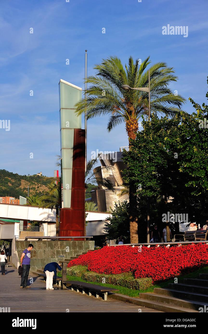 Bilbao Paseo Abando Ibarra - Stock Image