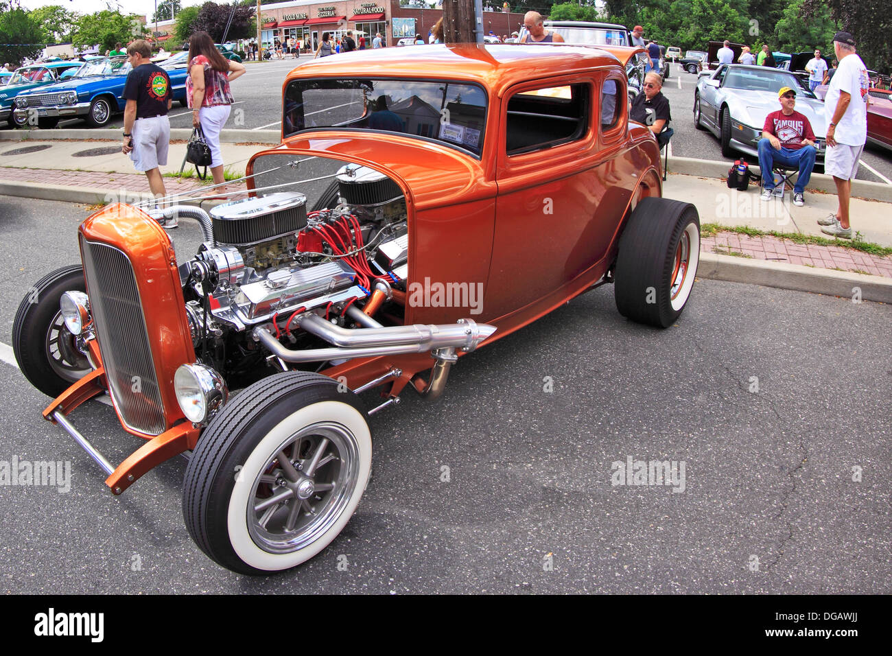 Long Island Car Shows >> Hot Rod On Display At Classic Car Show Sayville Long Island New York