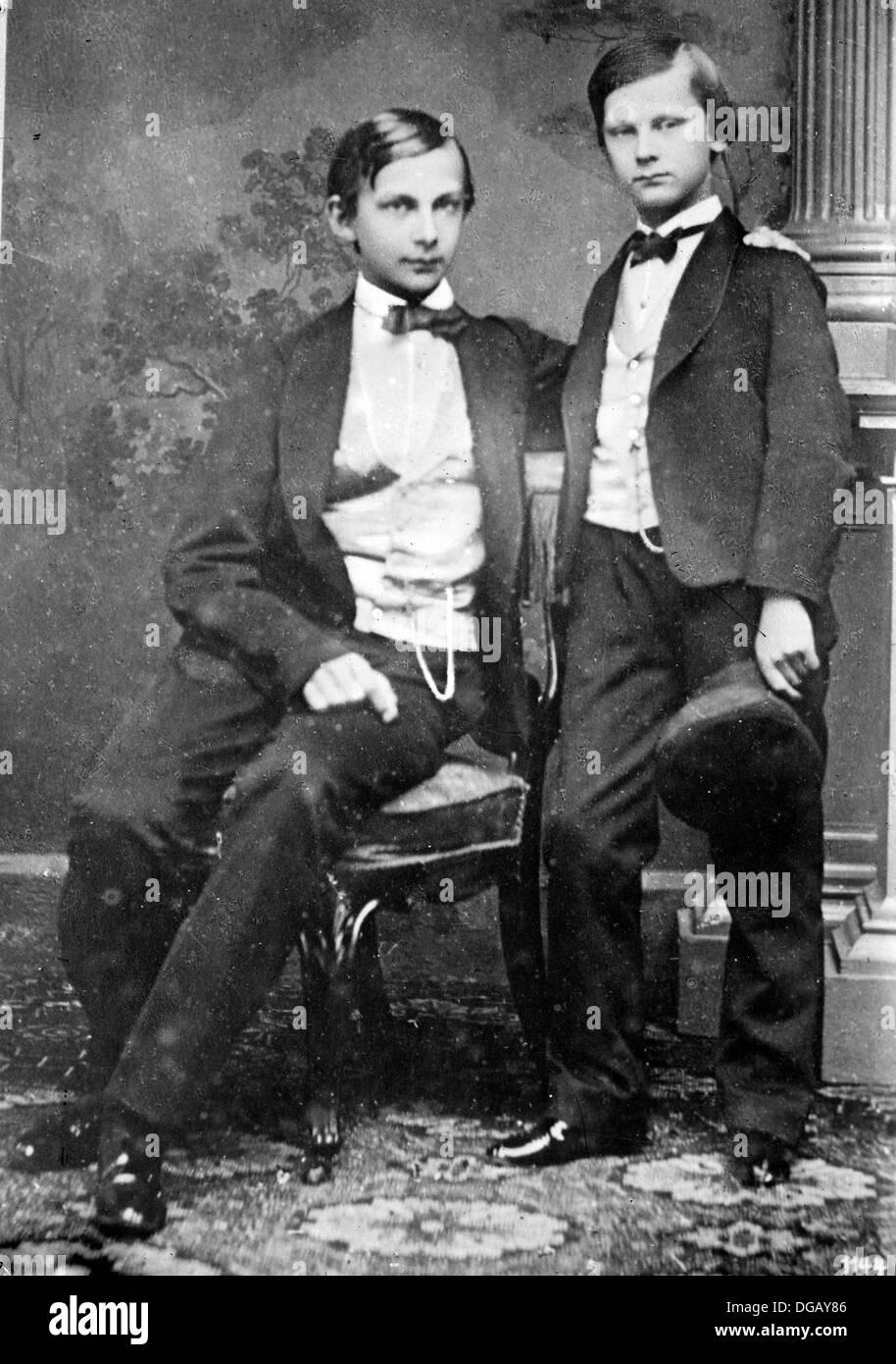 Princes Ludwig & Otto - Stock Image