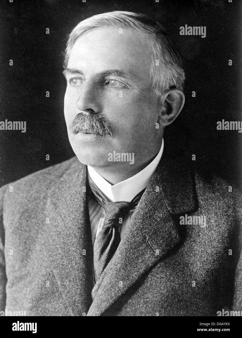 Ernest Rutherford, nuclear physicist Stock Photo