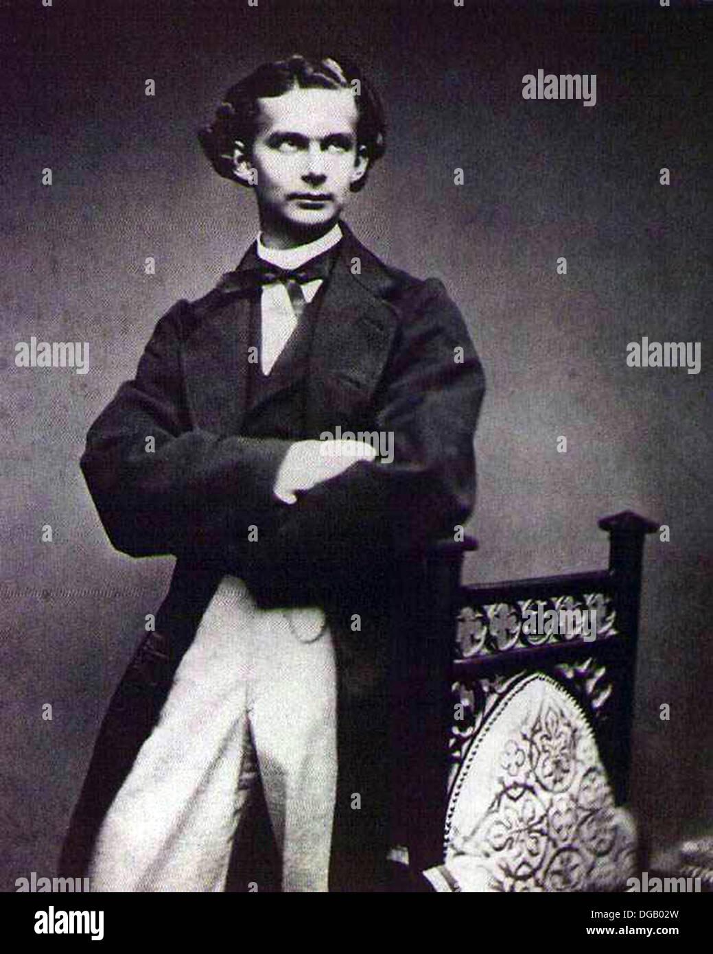 King Ludwig II Bavaria - Stock Image