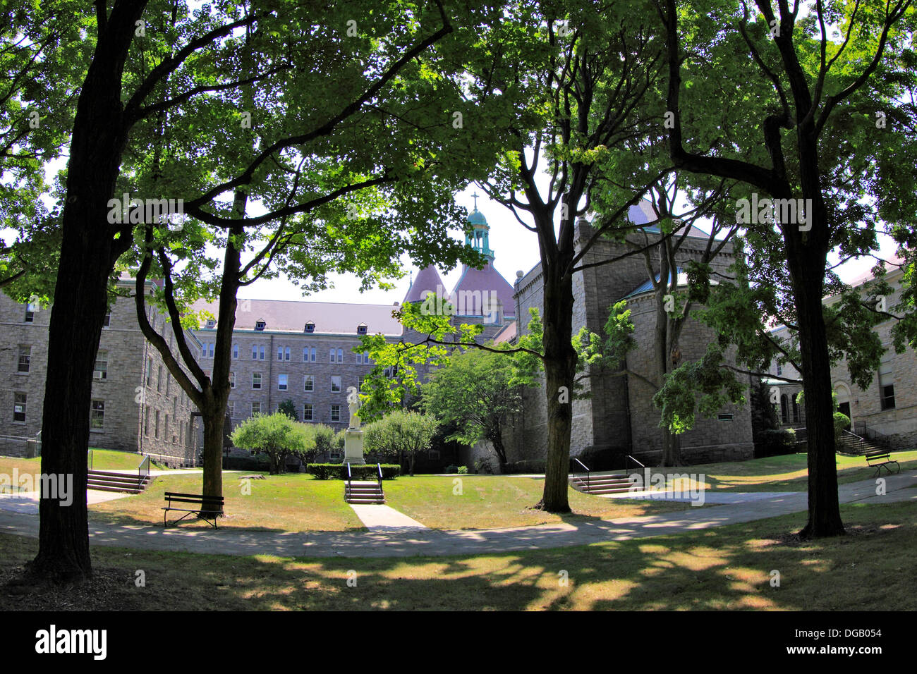 St. Joseph's Catholic Seminary Yonkers New York - Stock Image
